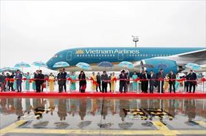 Vietnam Airlines tiếp nhận máy bay hiện đại Airbus A350-900 thứ 11
