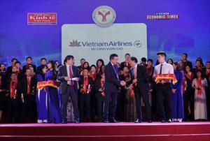 Vietnam Airlines lọt top 10 doanh nghiệp phát triển bền vững nhất Việt Nam