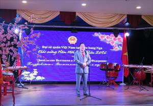"""Đại sứ quán Việt Nam tại LB Nga tổ chức chiêu đãi """"Mừng xuân Bính Thân"""""""