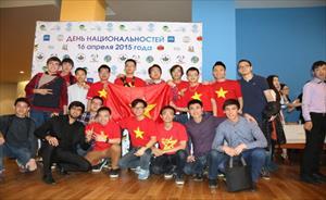 Tưng bừng ngày hội Sinh viên Quốc tế tại LB Nga