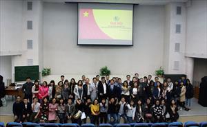Đại hội ban chấp hành đơn vị lưu học sinh Việt Nam tại RUDN