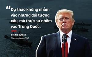 """Thương chiến căng như dây đàn, Mỹ quay sang """"mặt trận"""" Biển Đông: TQ sắp bị cấm vận?"""