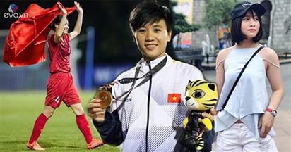 Quyết liệt trên sân cỏ, ngoài đời các cô gái ĐT bóng đá VN xinh đẹp không thua ai