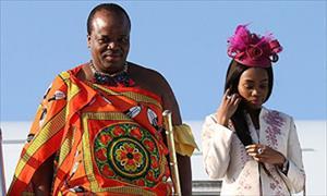 Vua Swaziland chi 17 triệu USD mua xe cho 14 vợ