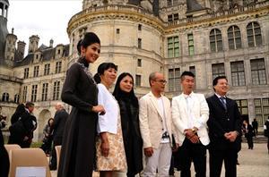 Phượng hoàng Việt đã bay lên quyến rũ tại lâu đài Chambord Pháp