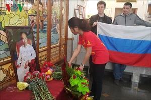 Xúc động kỷ niệm ngày sinh Chủ tịch Hồ Chí Minh tại Vladivostok (Nga)