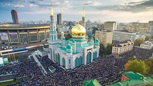 Moskva: Người Hồi giáo mừng Lễ Uraza Bayram