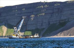 Bất ngờ lai lịch chiếc xe tăng nằm dưới đáy Biển Barents