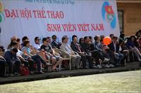 Lễ Bế mạc Đại hội thể thao sinh viên Việt nam tại Mátxcơva hè 2013