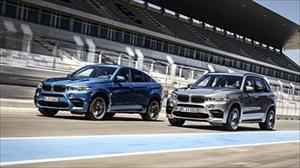 Bộ đôi X5 M và X6 M 2015 chính thức lộ diện