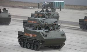 """Mãn nhãn với """"taxi chiến trường"""" BTR-MDM của Nga"""