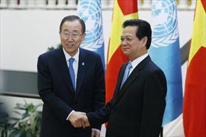 36 tiếng Tổng thư ký Liên hiệp quốc thăm Việt Nam