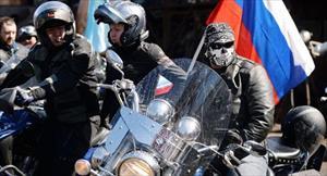 """""""Những con sói đêm"""" bắt đầu hành trình xe mô tô hướng về Berlin"""