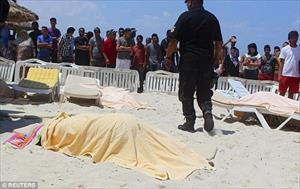 Hiện trường vụ khủng bố đẫm máu tại Sousse, Tunissia