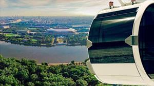 Moskva: Giá vé cáp treo trên đồi Chim sẻ là bao nhiêu?