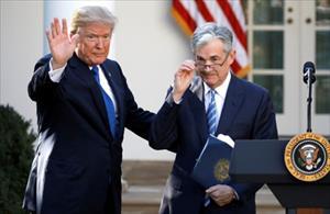 """Trump: """"Tôi sẽ không cản nếu chủ tịch Fed muốn từ chức"""""""