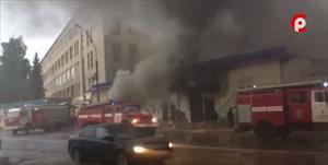 Cháy chợ Việt Nam ở thành phố Vologda