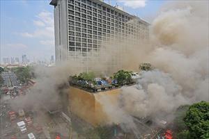 Cháy khách sạn và sòng bạc ở trung tâm thủ đô Philippines