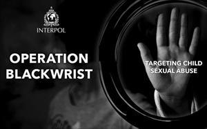 Interpol giải cứu 50 trẻ em khi triệt phá đường dây ấu dâm qua mạng
