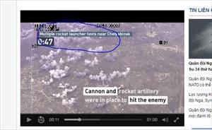 Video: Nga thử nghiệm rocket phóng loạt ở Chelyabinsk