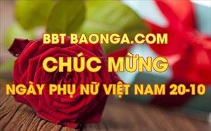BBT Baonga.com chúc mừng Ngày phụ nữ Việt Nam 20-10