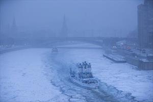 Chùm ảnh tuyết phủ trắng thủ đô nước Nga
