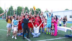 Tổng kết giải bóng đá Đoàn Kết Moscow lần thứ IV hè năm 2017