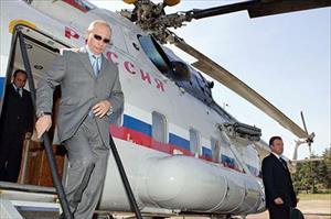 Tổng thống Nga đi lại bằng gì?