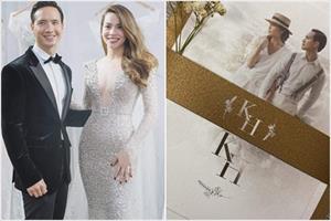 HOT: Chính thức lộ thiệp cưới của Kim Lý – Hồ Ngọc Hà?