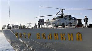 """Nga lại khoe siêu tàu khu trục sử dụng 200 loại vũ khí để """"răn đe"""" NATO"""