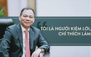 Chủ tịch Phạm Nhật Vượng chỉ ra một điểm giúp doanh nghiệp Việt