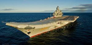 Cháy tàu sân bay Đô đốc Kuznetsov của Nga, nhiều thủy thủ bị thương