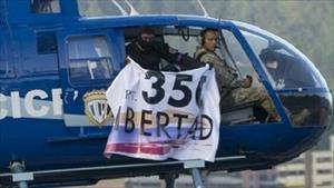 Đặc vụ tình báo lái trực thăng cảnh sát tấn công Tòa án Tối cao ở Venezuela