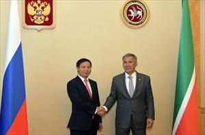 Việt Nam tăng cường hợp tác với Cộng hòa Tatarstan
