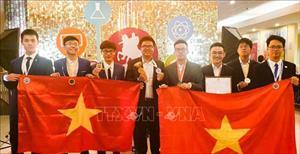 Cả 8 học sinh Việt Nam đều giành huy chương trong lần đầu dự Cuộc thi Olympic Quốc tế Moscow