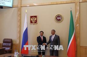 Thúc đẩy hợp tác giữa các địa phương Việt Nam và Liên bang Nga