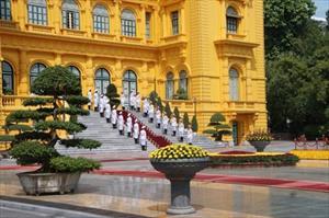 Lễ đón chính thức Tổng thống Philippines Rodrigo Duterte tại Hà Nội