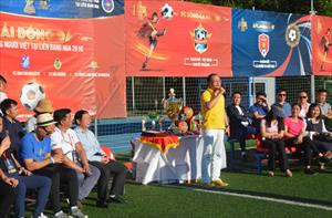 Tin ảnh: Lễ khai  mạc Giải bóng đá Cộng đồng người  Việt tại LB Nga 2018