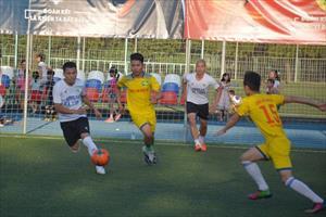 Tin ảnh: Chung kết Giải bóng đá cộng đồng người Việt tại LB Nga 2018
