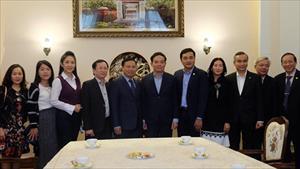 Phó Bí thư Thường trực Thành ủy TP. HCM thăm Đại sứ quán Việt Nam tại Nga