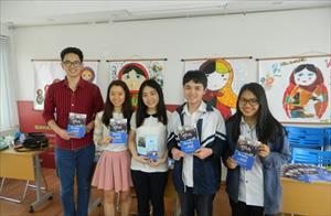 Sinh viên Việt Nam chiến thắng HSE Olympiad Trẻ Quốc tế giành học bổng du học Nga