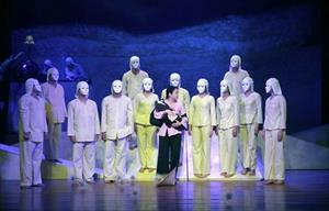 Nhà hát Kịch nói Quân đội lưu diễn tại Matxcova Liên bang Nga