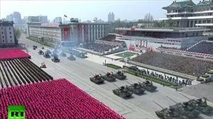 Video: Toàn cảnh Lễ duyệt binh tại Triều Tiên