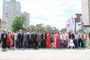 Lễ động thổ xây dựng tượng đài Chủ tịch Hồ Chí Minh tại Ulyanovsk