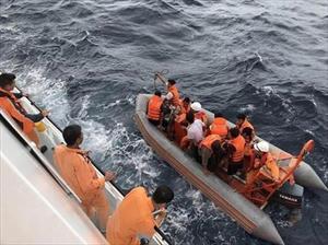 Vụ 9 ngư dân mất tích: Tiến hành nhận dạng một phần thi thể tìm thấy