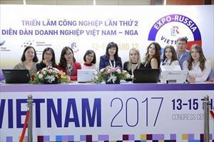Triển lãm Quốc tế Việt – Nga 2019: Cơ hội vàng cho 500 doanh nghiệp hai nước thúc đẩy hợp tác
