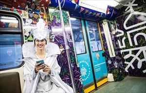 Moscow chi hơn 21 triệu ruble trang hoàng tàu điện ngầm