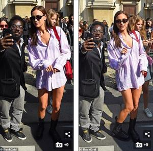 Siêu mẫu Nga Irina Shayk thả dáng buông lơi với mốt giấu quần siêu gợi cảm