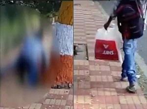 Ấn Độ: Thấy cô gái bị cưỡng bức trên phố, dân đứng quay phim