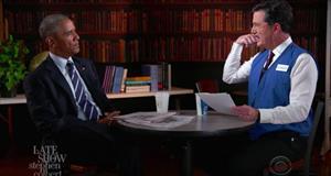 Clip vui Tổng thống Obama tập phỏng vấn xin việc mới sau khi rời nhà Trắng